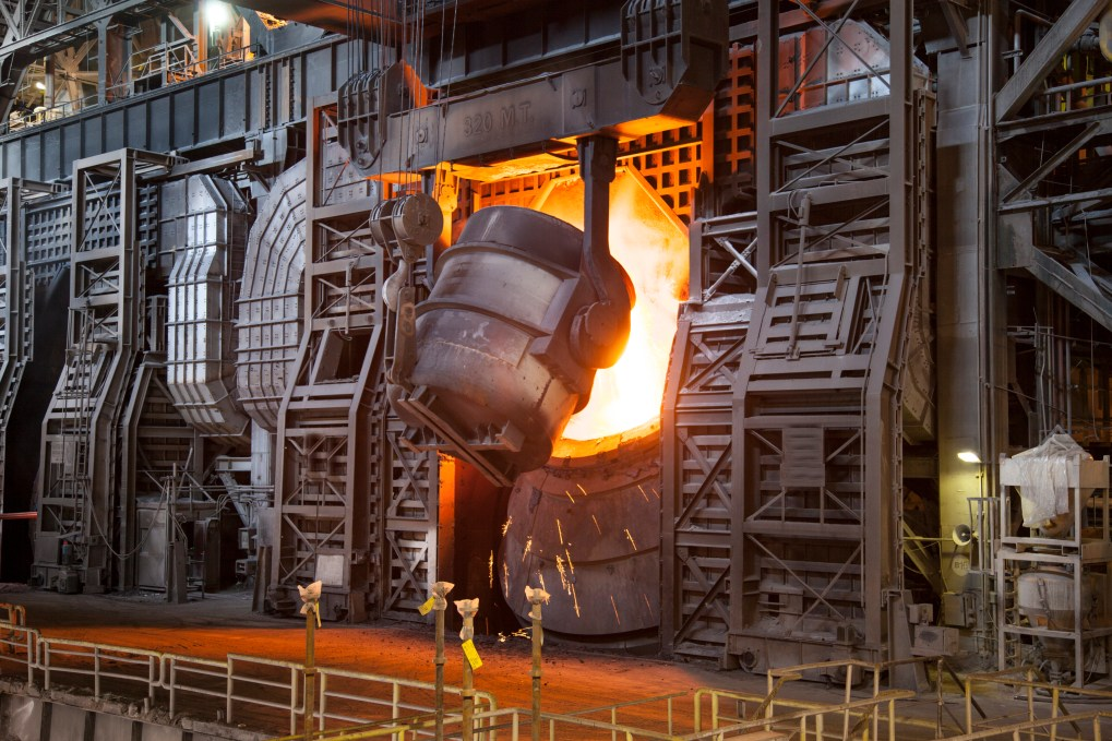 This is how steel is processed.