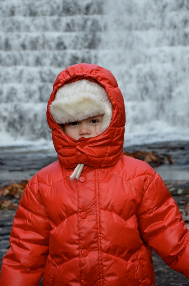 Waterfall hike at Skytop Lodge in Pennsylvania