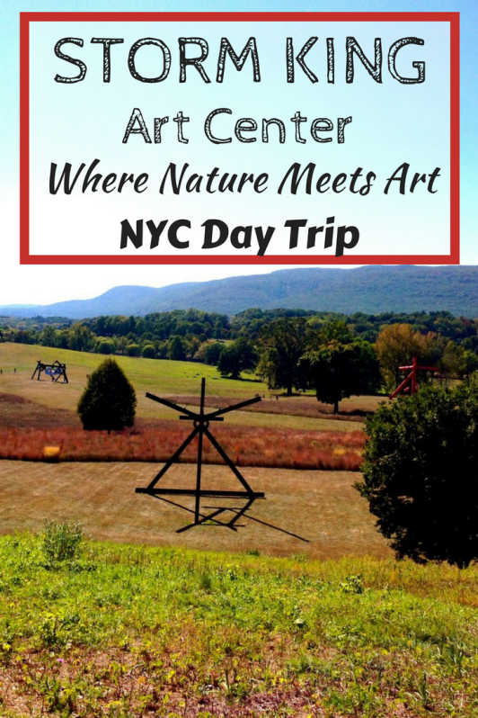 Storm King Art Center in the Hudson Valley makes for the perfect day trip from New York City.