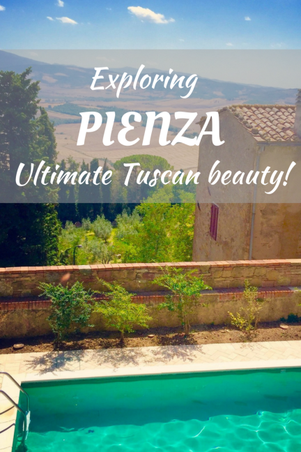 Exploring the beautiful town of Pienza in Tuscany. The perfect day trip.