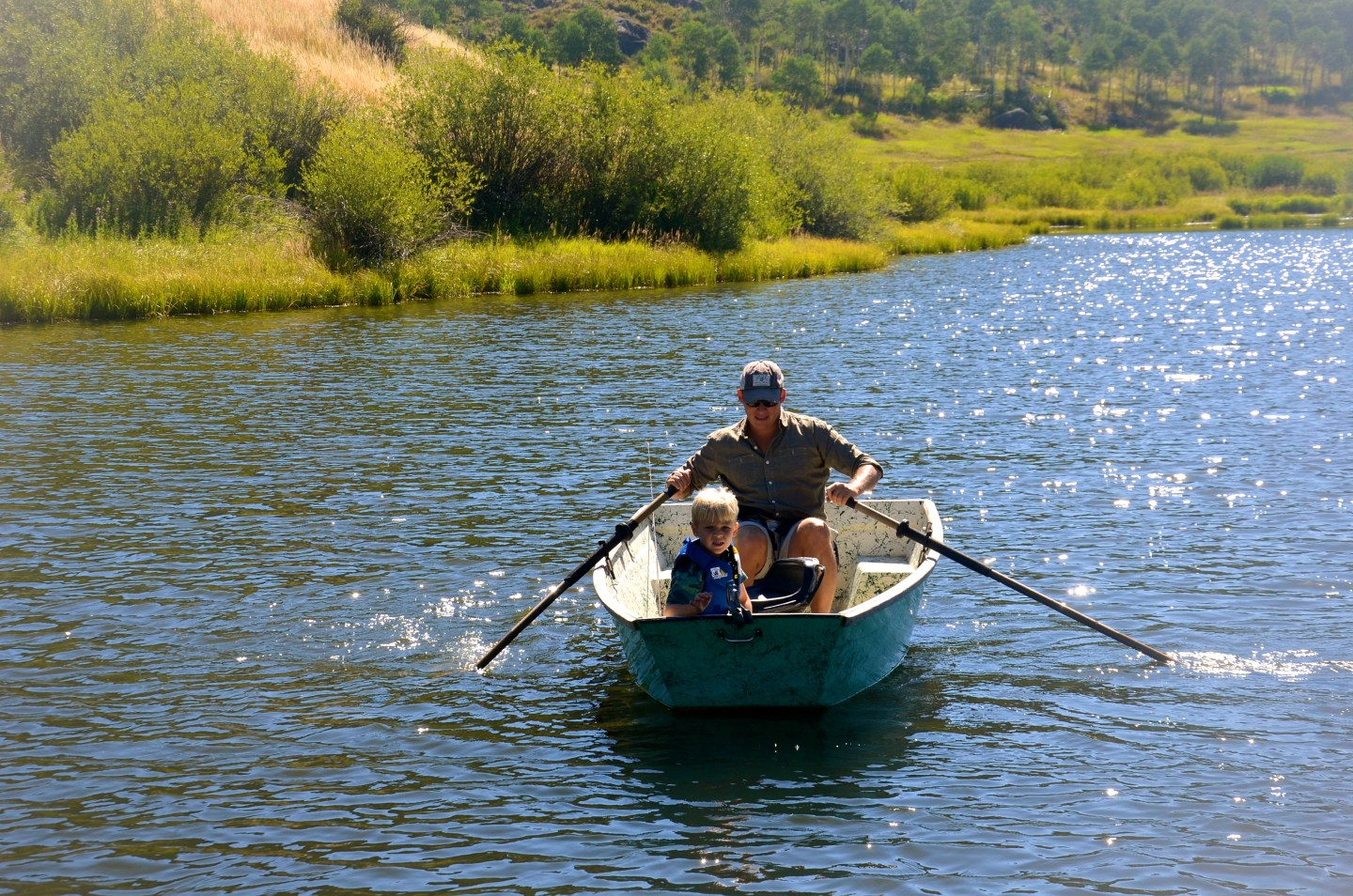 Things to do in Steamboat Springs in summer, boating