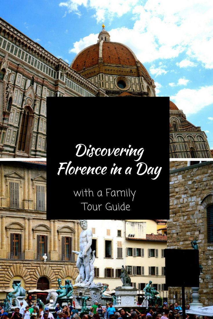 Discovering Florence in 1 Day with a Tour Guide.