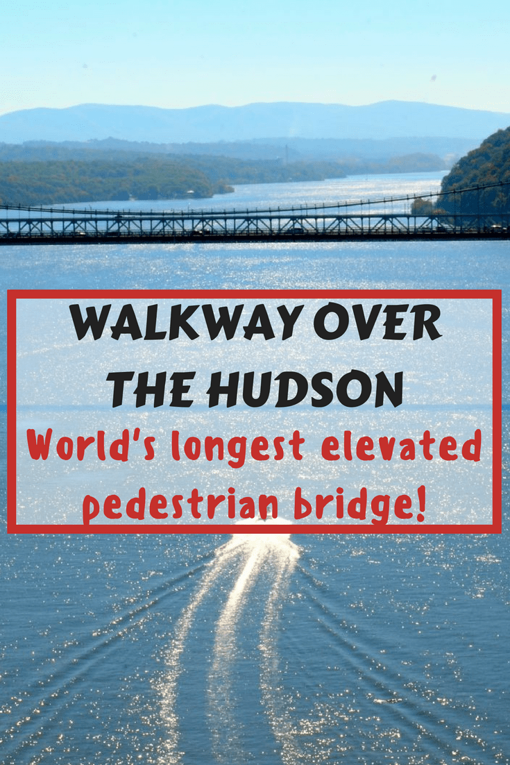 Walkway over the Hudson is the world's longest elevated pedestrian bridge.