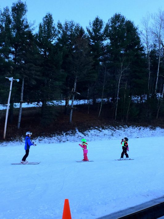 ski lessons at Catamount mountain
