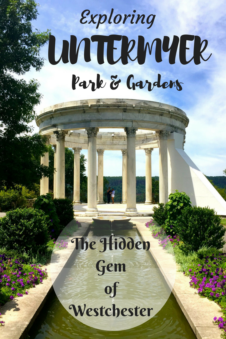 Untermyer Park and Gardens in Yonkers New York is a fascinating and beautiful place and a window into another era.