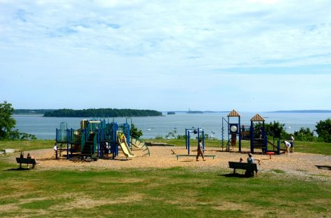 Fun things to do in Portland includes a visit to the Eastern Promenade.