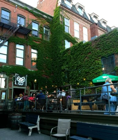 Portland Maine has fabulous restaurants and food.