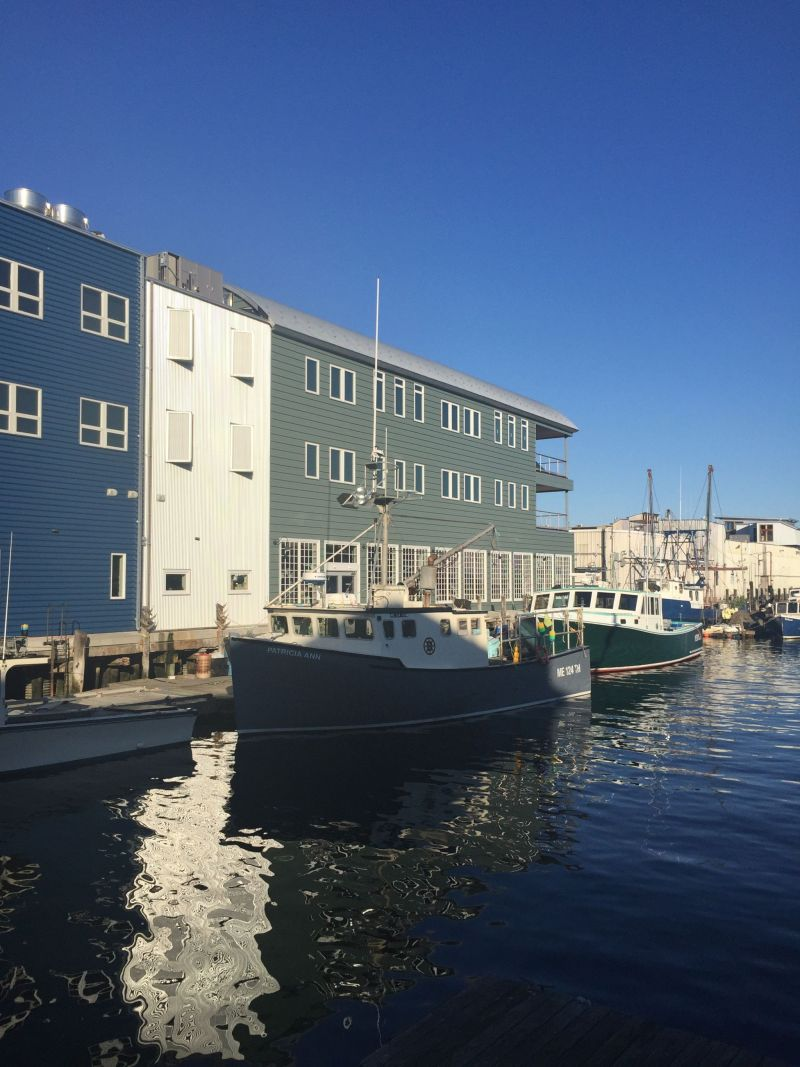 Fun things to do in Portland Maine includes going to the waterfront.