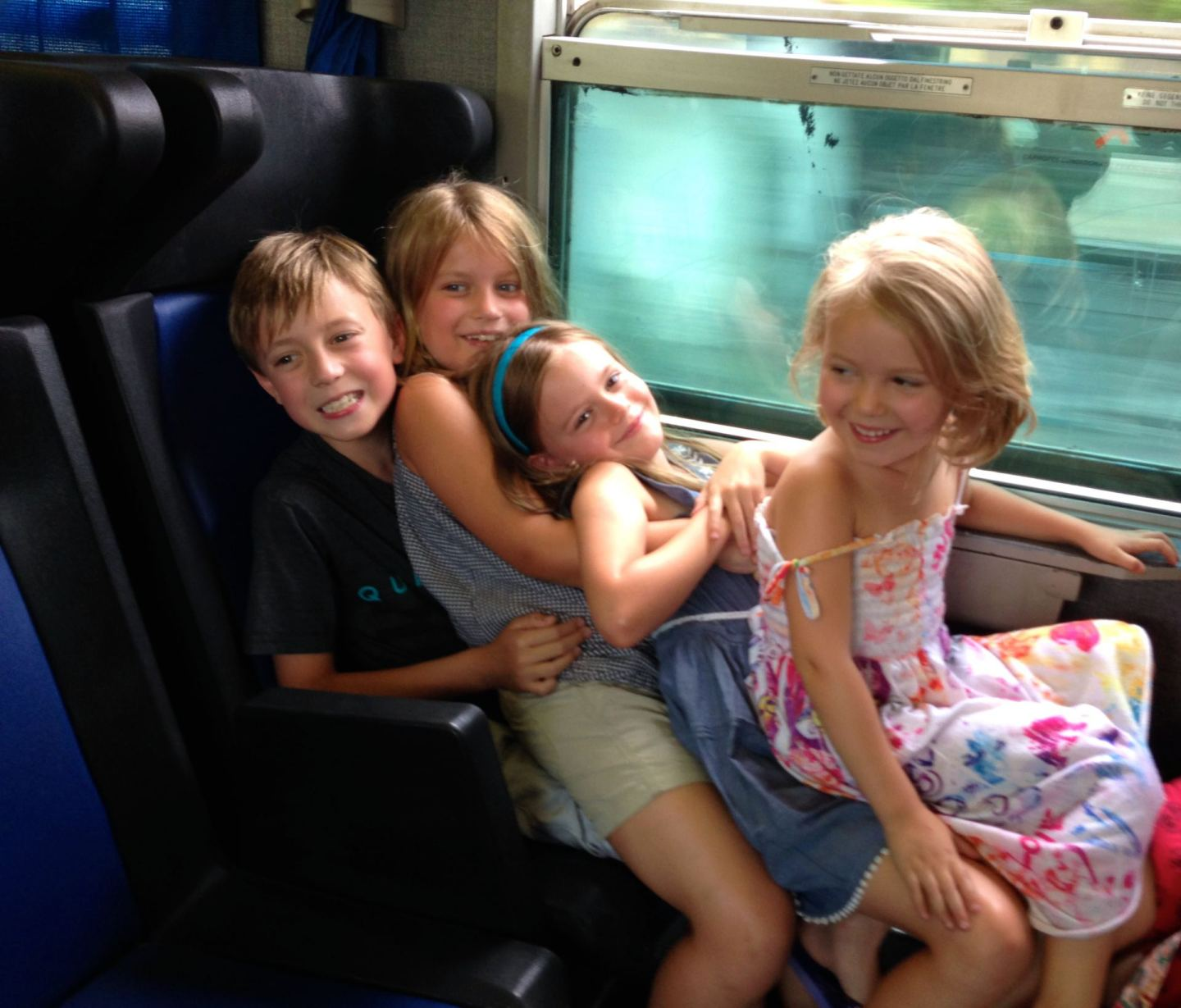 Train ride to Florence