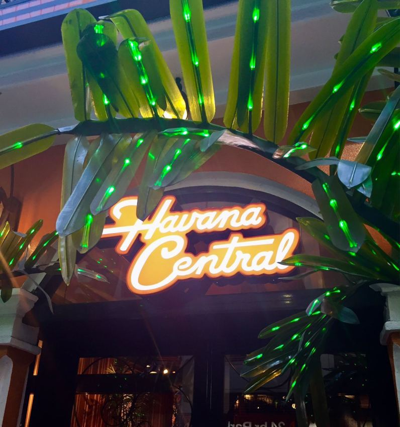 Kid friendly restaurants in Times Square, cuban restaurant Havana central