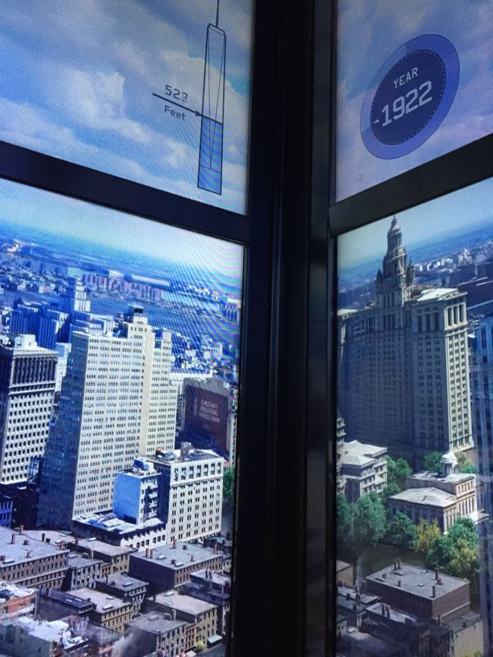 Elevator video on the history of New York