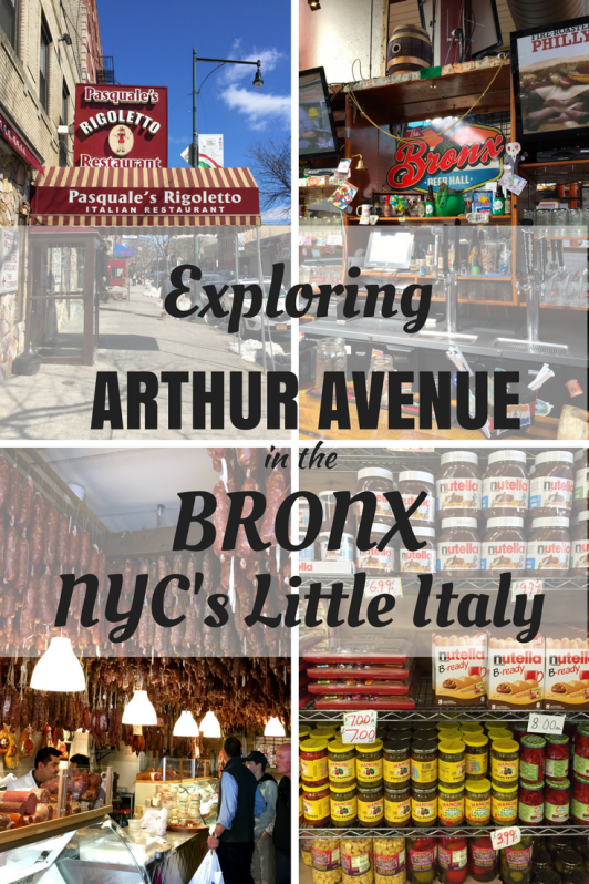 Arthur Avenue in the Bronx in New York City s considered by many New Yorkers to be the city's real Little Italy. Full of good restaurants, delicatessens, bakeries and meat and cheese shops, spending an afternoon here is almost like being in Italy! The kids loved it and our New York travel list has just expanded.