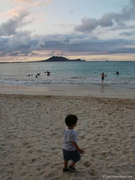 Summer family vacation in Oahu with Piccolo Explorer.