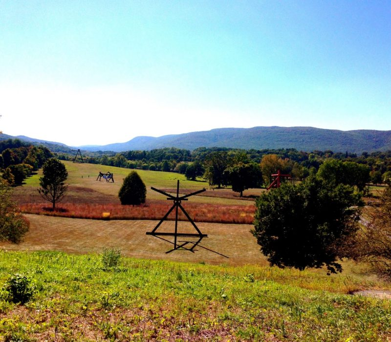 Storm King Art Center in the Hudson valley is where art meets nature.