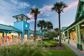 Tanger Outlets in Hilton Head are great for shopping.