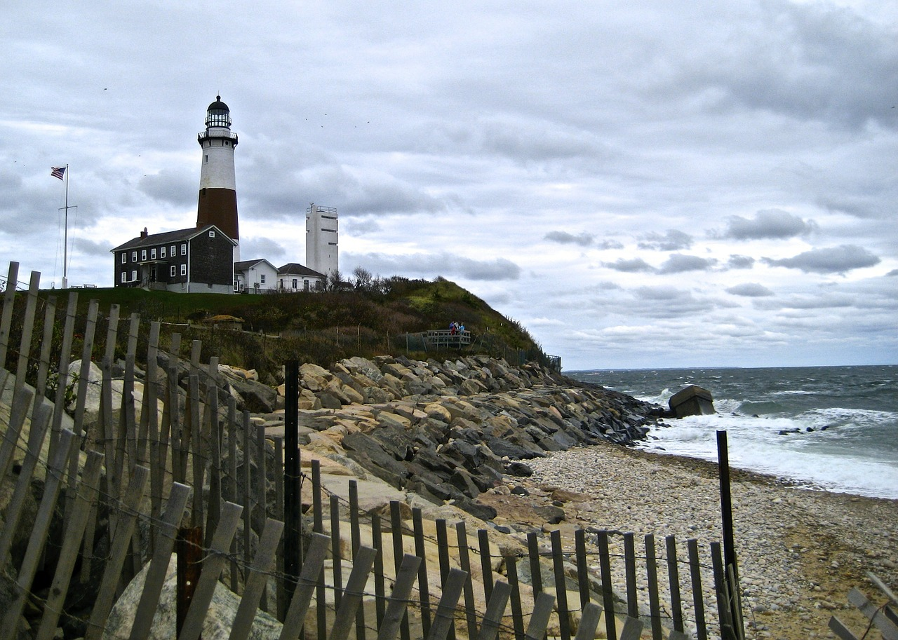 Montauk Long Island has beautiful beaches and a great summer retreat for New Yorkers.