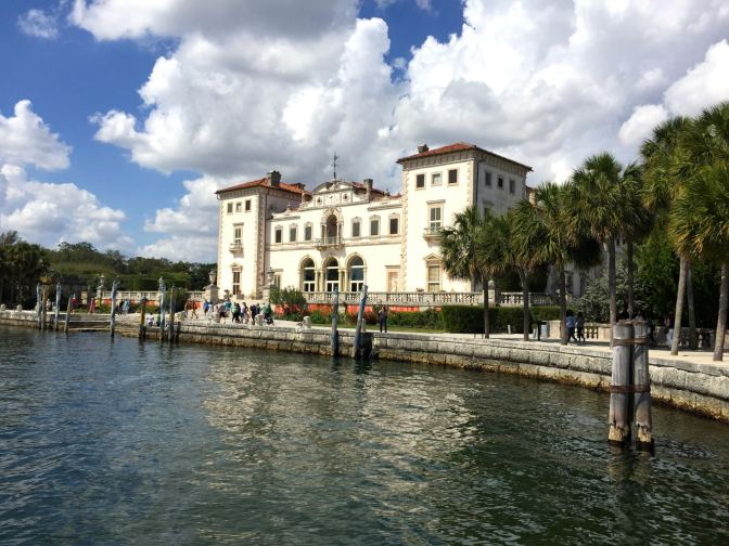 family activities in Miami includes a visit to the Vizcaya estate
