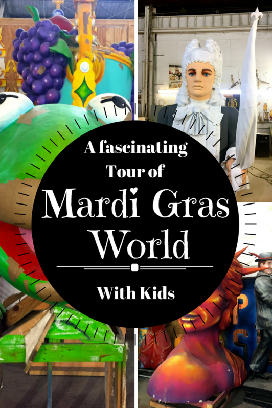 A fascinating tour of Mardi Gras World