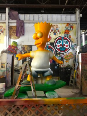 bart-simpson-mardi-gras-float-