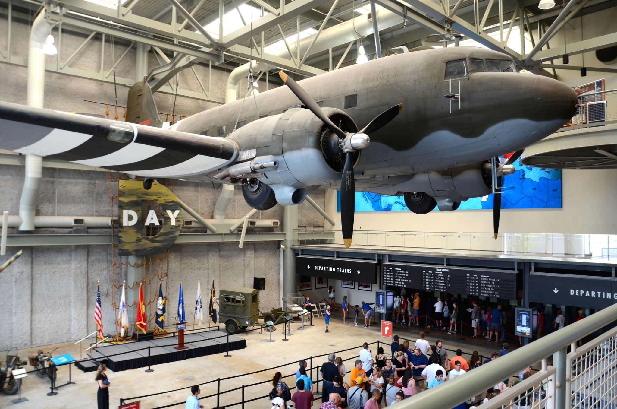 A visit to the World War 2 Museum in New Orleans with kids.