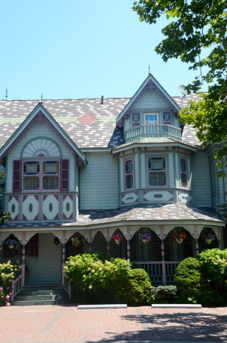 Victorian architecture in Cape May New Jersey.