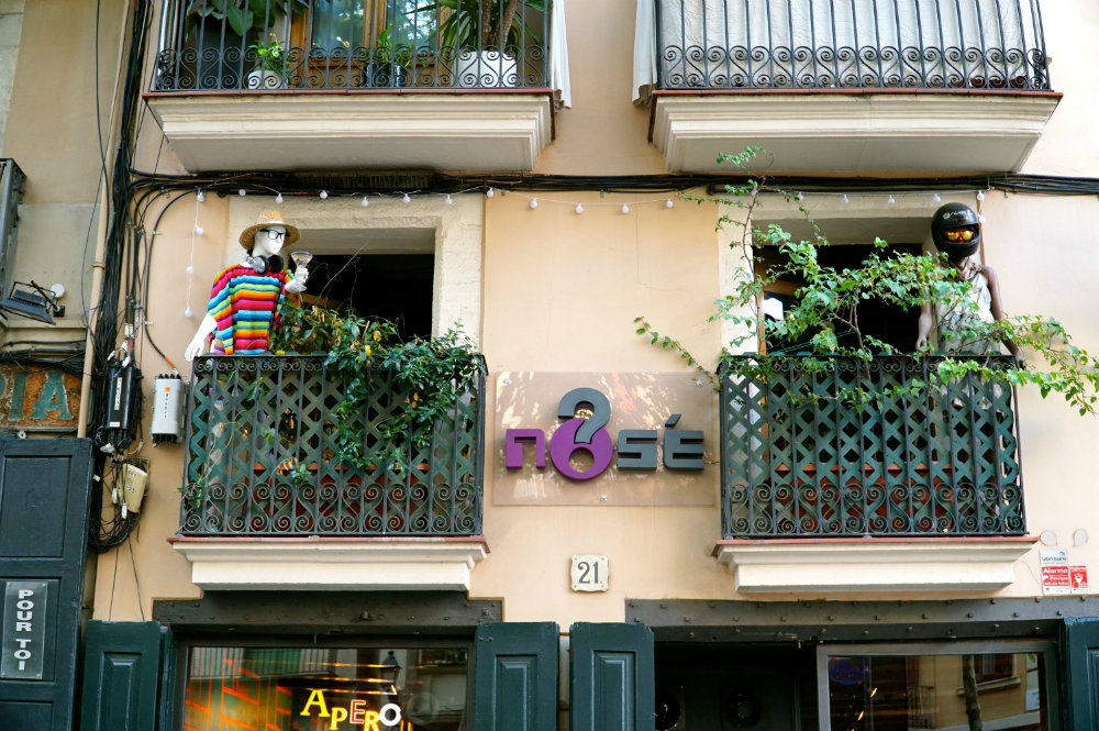 Looking at the charming quirkiness of El Born in Barcelona.