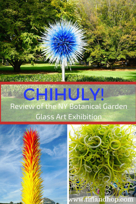 A review of the Chihuly exhibition at the New York Botanical Garden.
