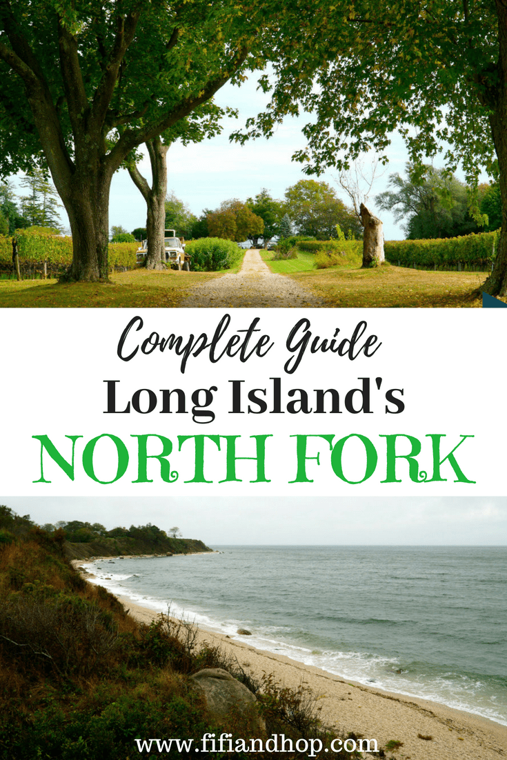 Guide to the North Fork in Long Island, NY, top things to do and winderies in the North Fork