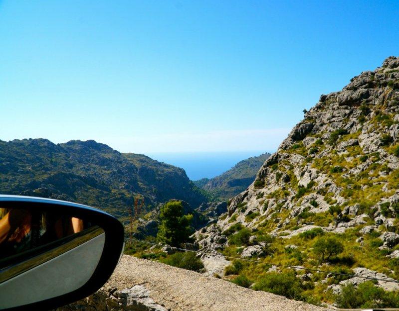 Driving in Mallorca