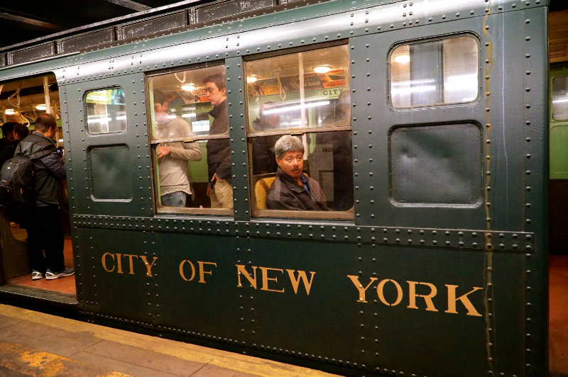 All aboard the Holiday Nostalgia Train in New York City