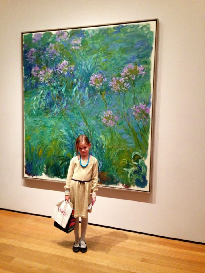 Museum of Modern Art is one of the best family friendly museums in New York City