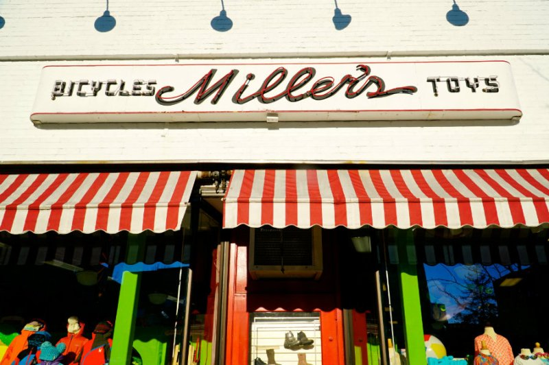 Mamaroneck living in Westchester County is not complete without a visit to Miller's store.