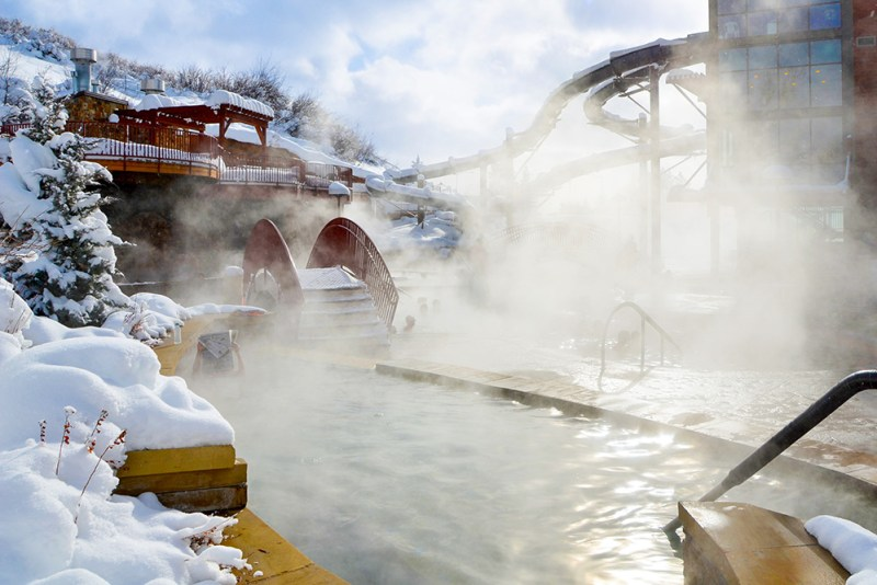 Old Town Hot Springs is one of the things to do in Steamboat Springs besides skiing