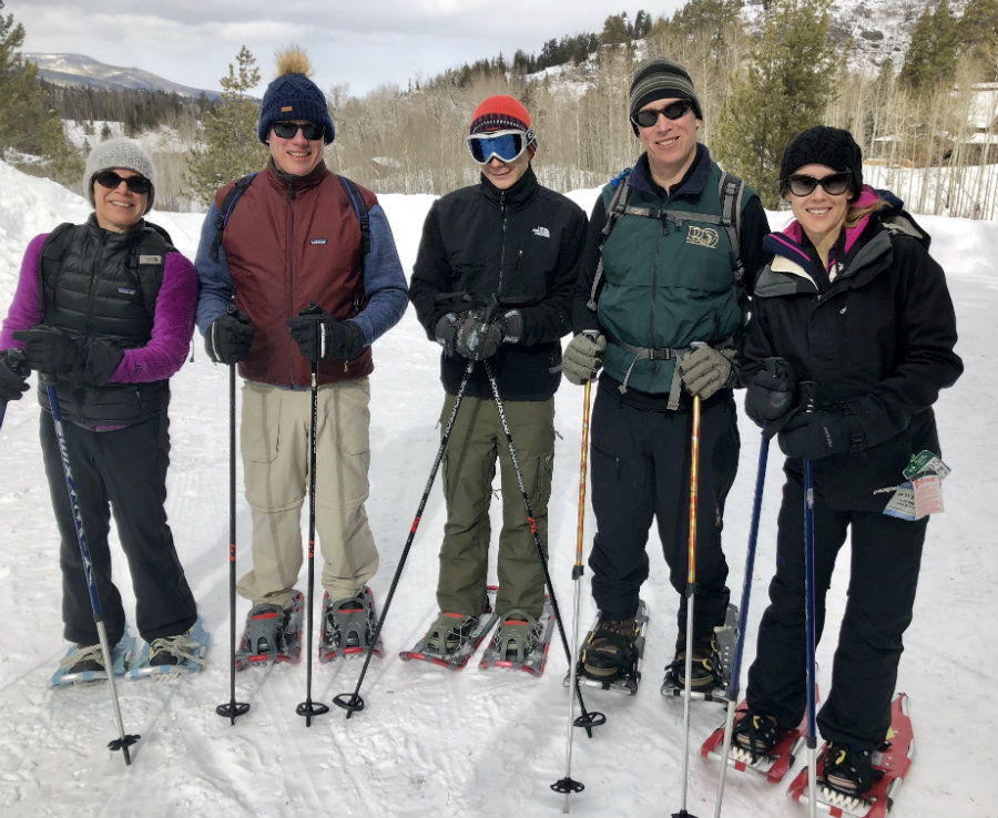 Snow shoeing adventure is one of the things to do in Steamboat Springs besides skiing