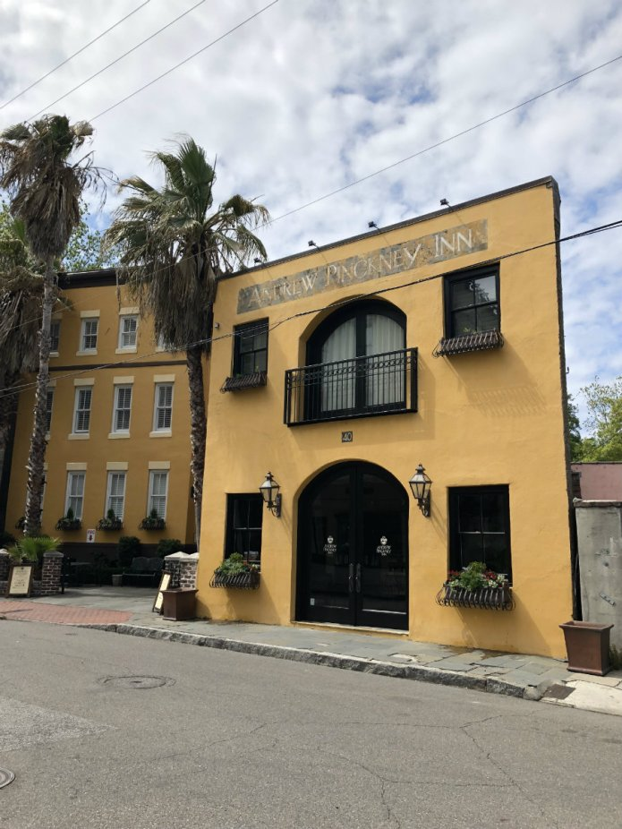 The Andrew Pickney House is a wonderful place to stay on a Charleston Getaway