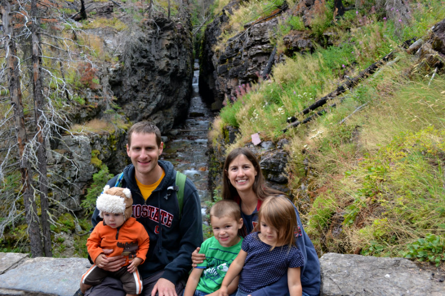 Glacier National Park family vacation