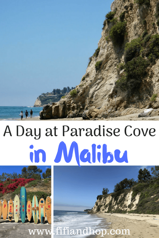 A day at Paradise Cove in Malibu