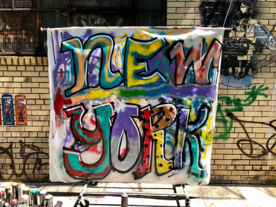Brooklyn Graffiti and Street Art Workshop with Brooklyn Unplugged