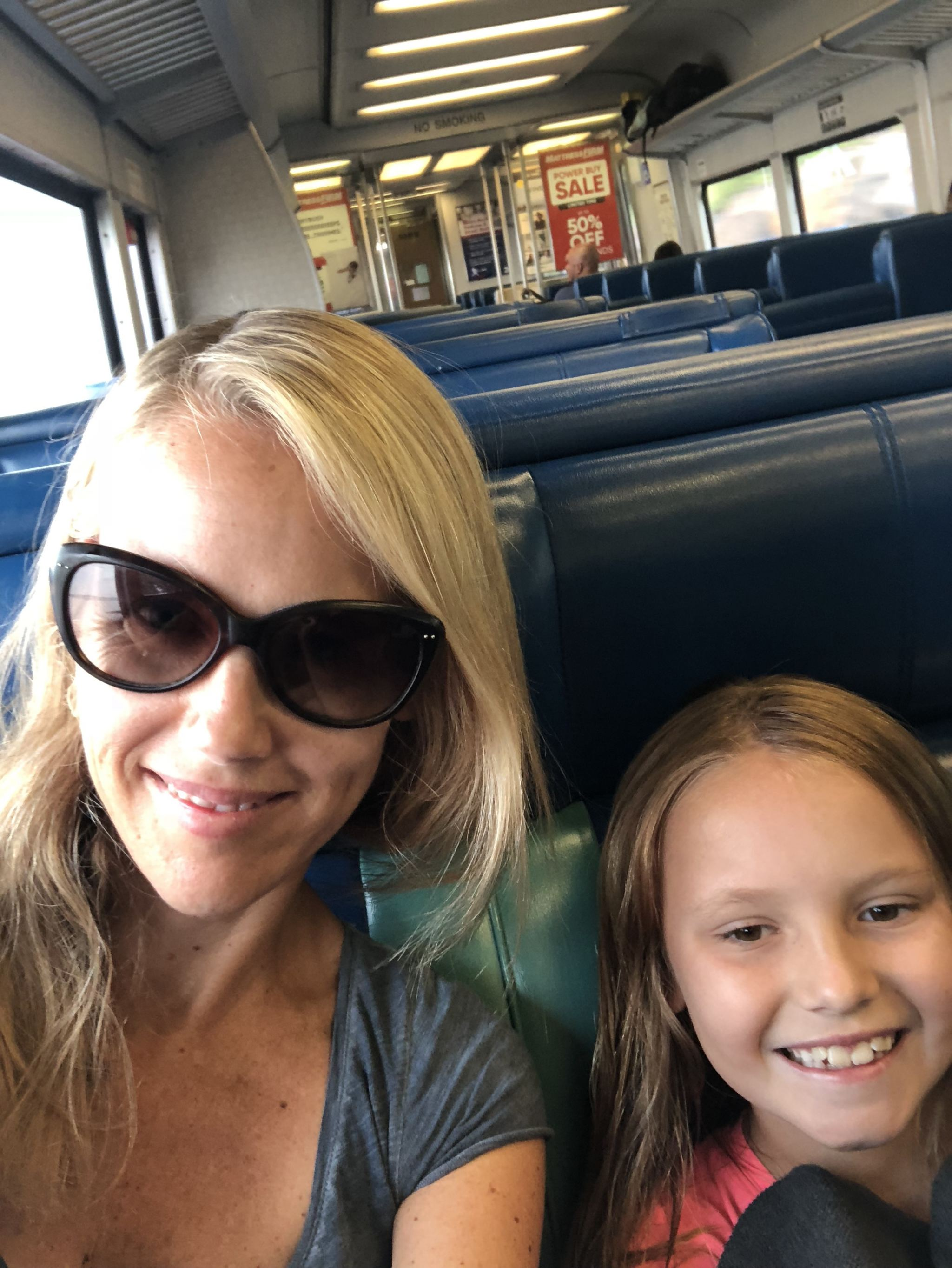 Taking the Hudson River line on Metro North