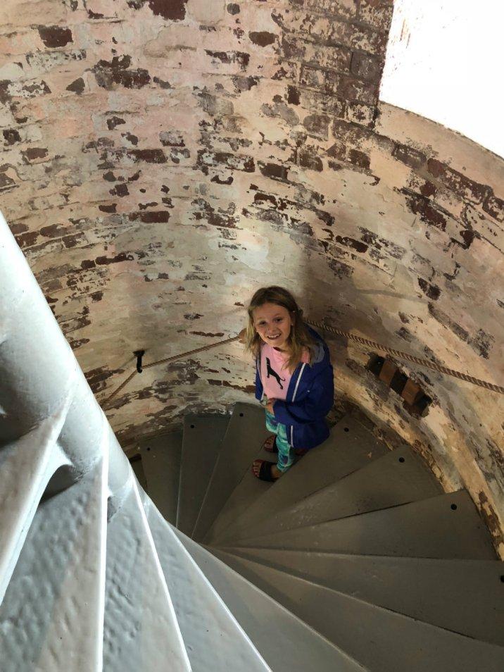 Climbing the Montauk Lighthouse