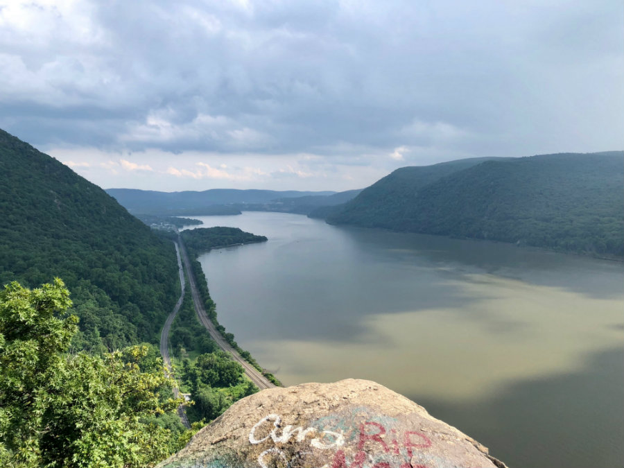 Summit of Breakneck Ridge in Cold Spring, NY