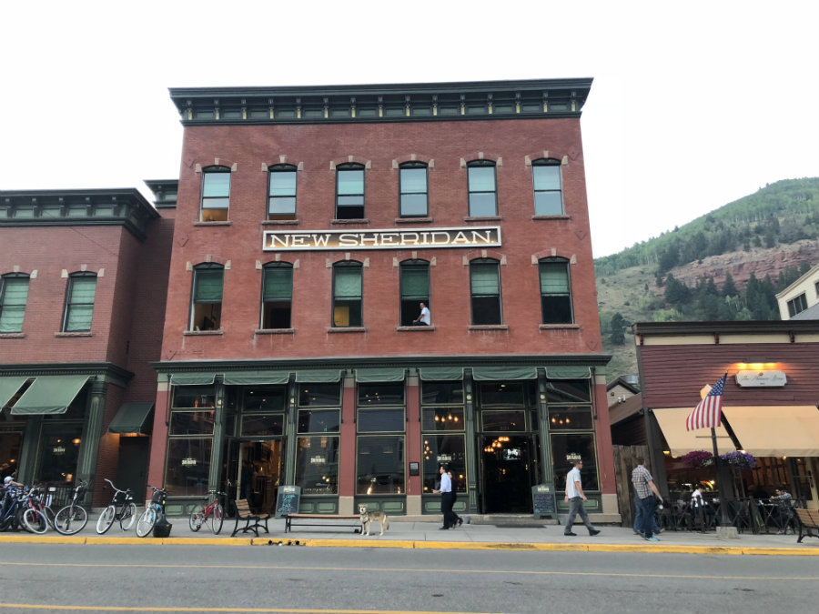 Dining at the New Sheridan in Telluride