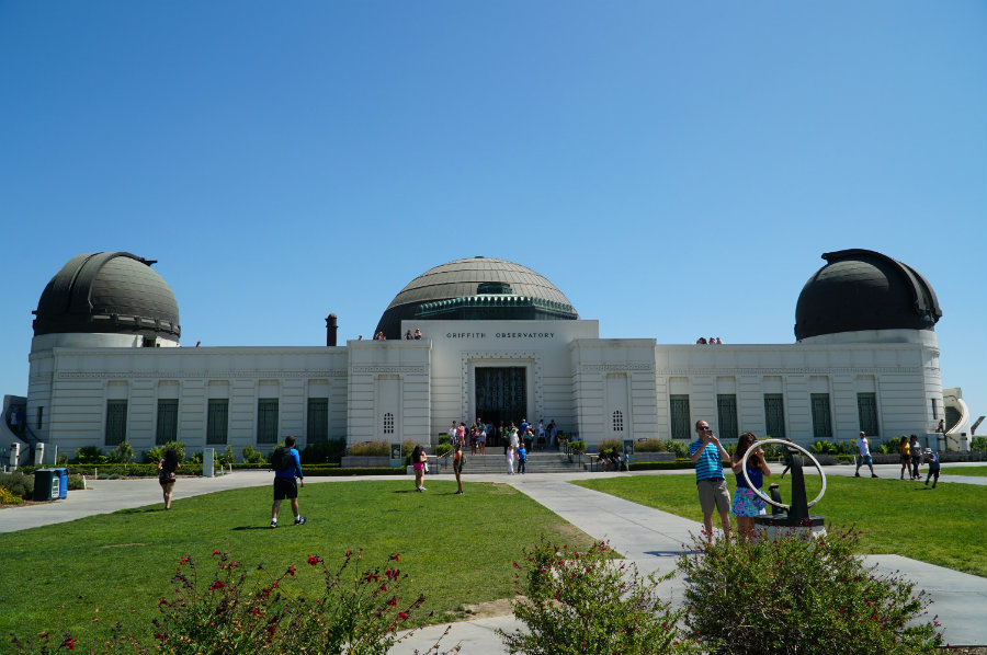 Hollywood with kids, the Griffith Observatory