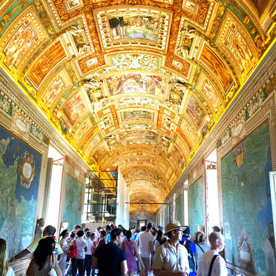Vatican City, travel writer