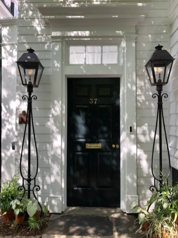 Charleston architecture, self-guided walk downtown Charleston