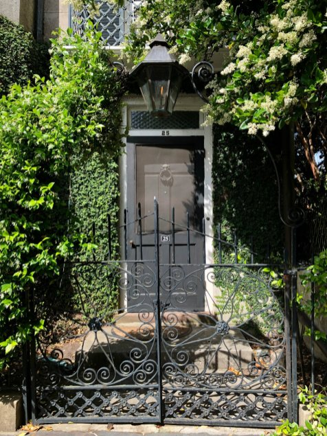 South of Broad, Charleston, wrought iron gates
