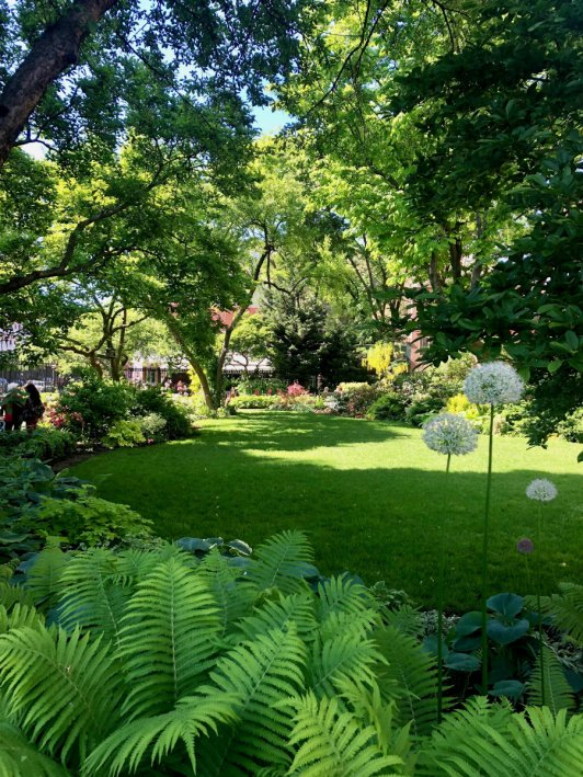 Jefferson Market garden, favorite parks in New York City