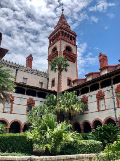 A visit to Flagler College in St. Augustine, Florida