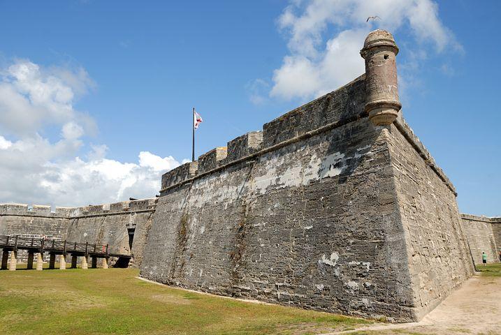Exploring the Castillo de San Marco in St. Augustine, Florida