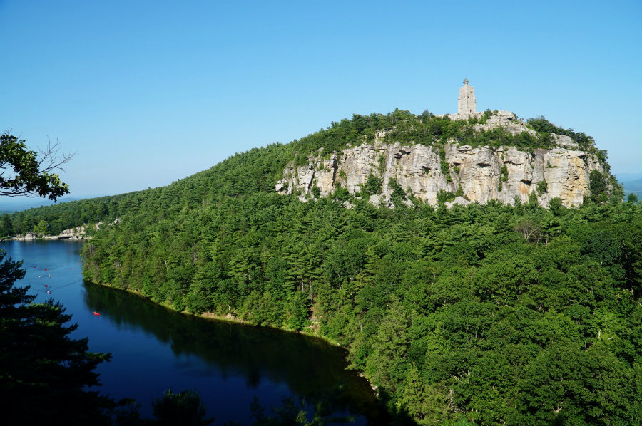 Mohonk Mountain House day pass, hiking the property
